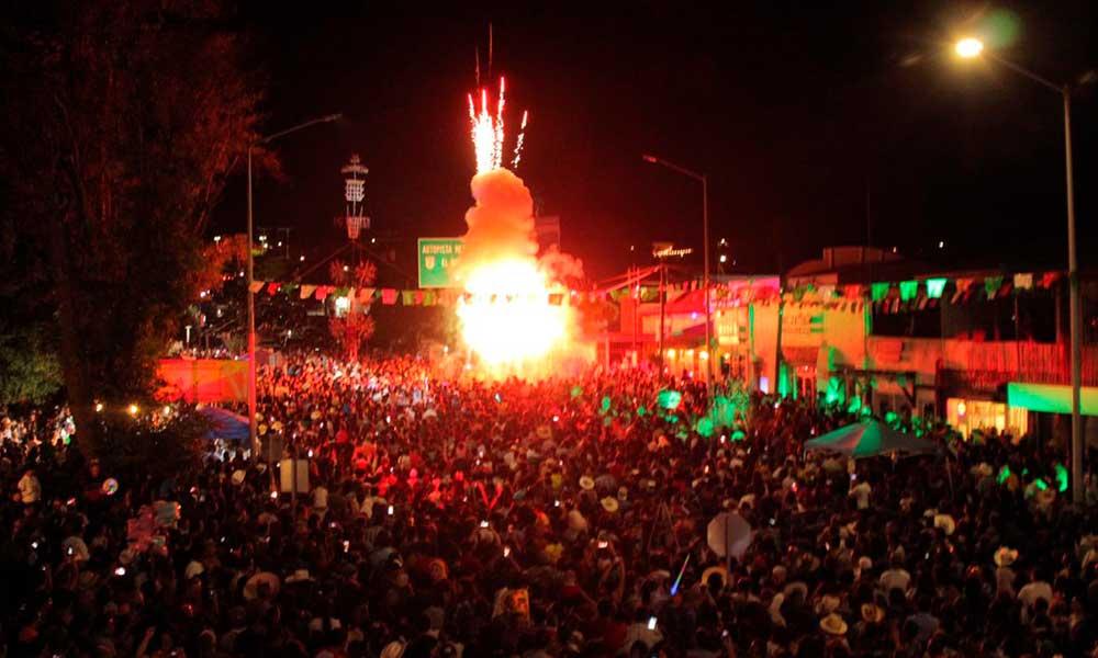 Tecate celebró el Grito de Independencia