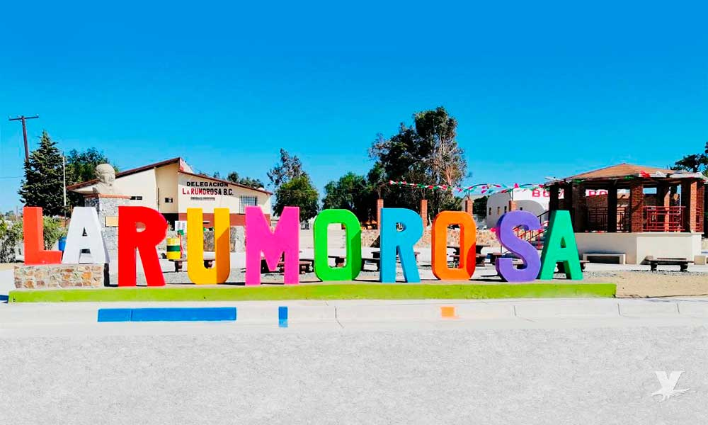 Rehabilitan Plaza Cívica de la Rumorosa en Tecate