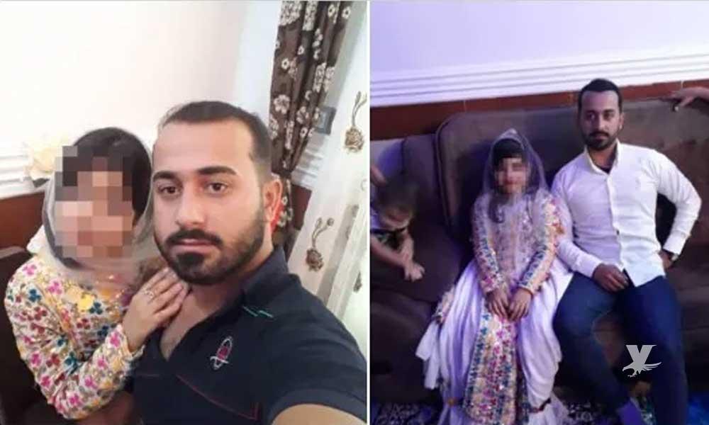Hombre de 28 años se casó con una niña de 9 años