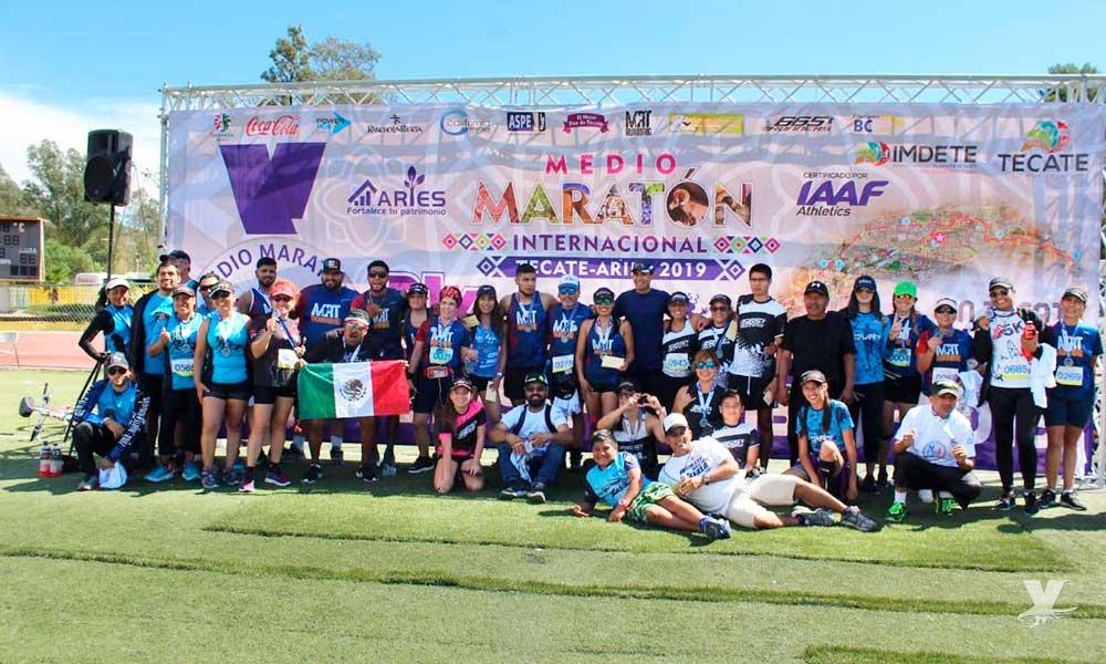 Se celebró el Medio Maratón Tecate-Aries 2019