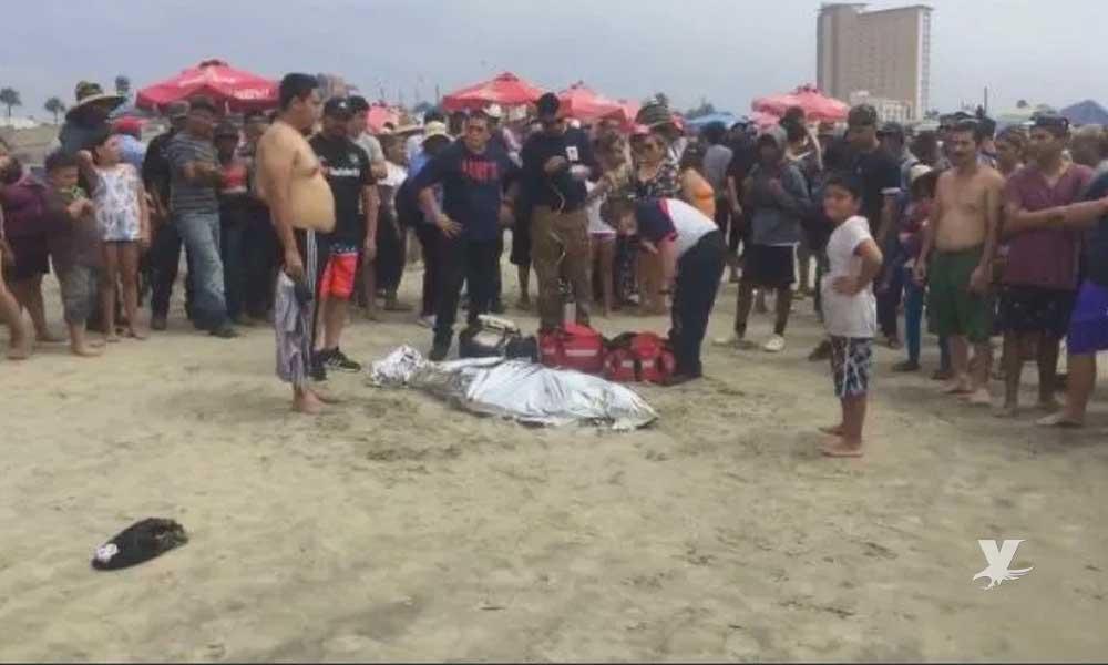 Muere ahogado joven en playas de Rosarito