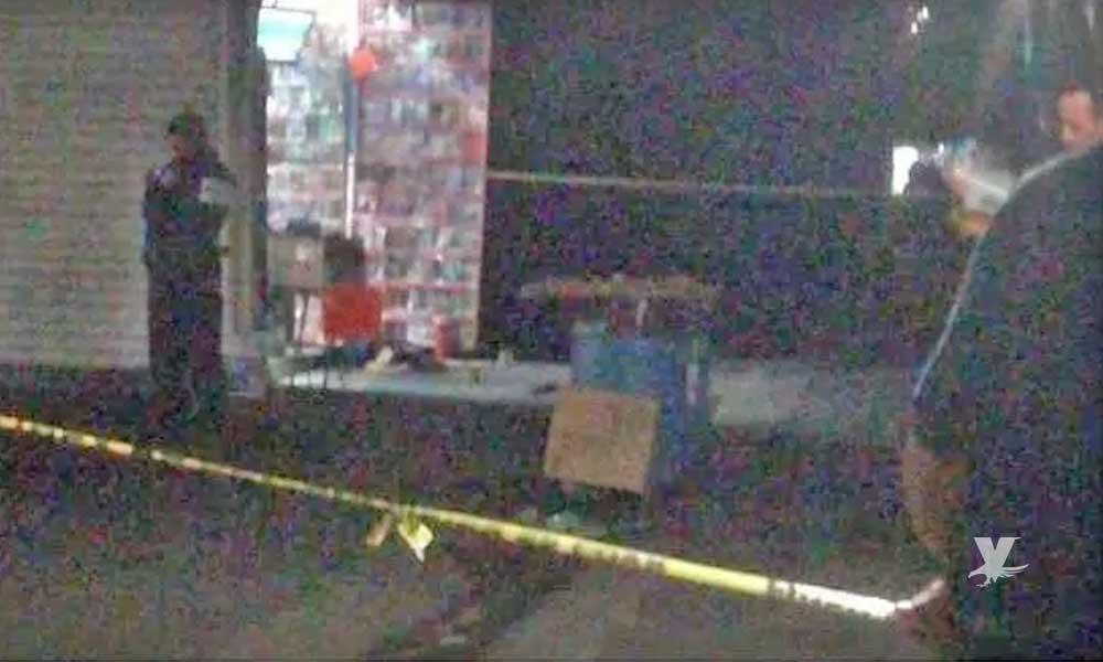 Dos personas son acribilladas a disparos en el Swap Meet Siglo 21
