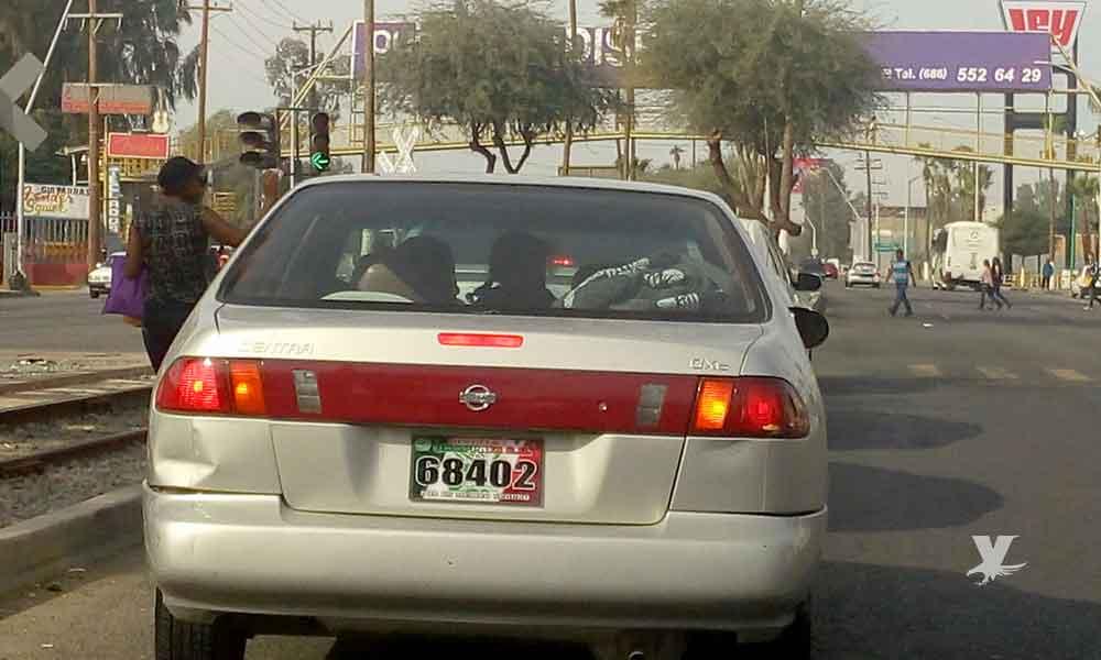 """No regularizaran los autos """"chocolate"""" en Baja California"""