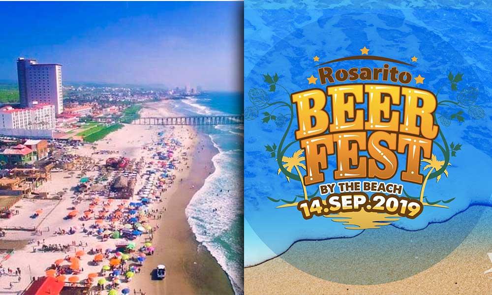 Invitan a disfrutar del Rosarito BeerFest, por primera vez en la playa