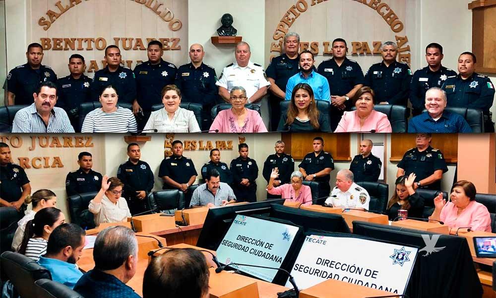 Director de Seguridad Ciudadana presenta informe ante el Cabildo de Tecate