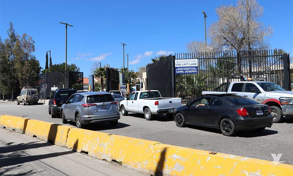 Extienden México y Estados Unidos restricciones de cruce fronterizo