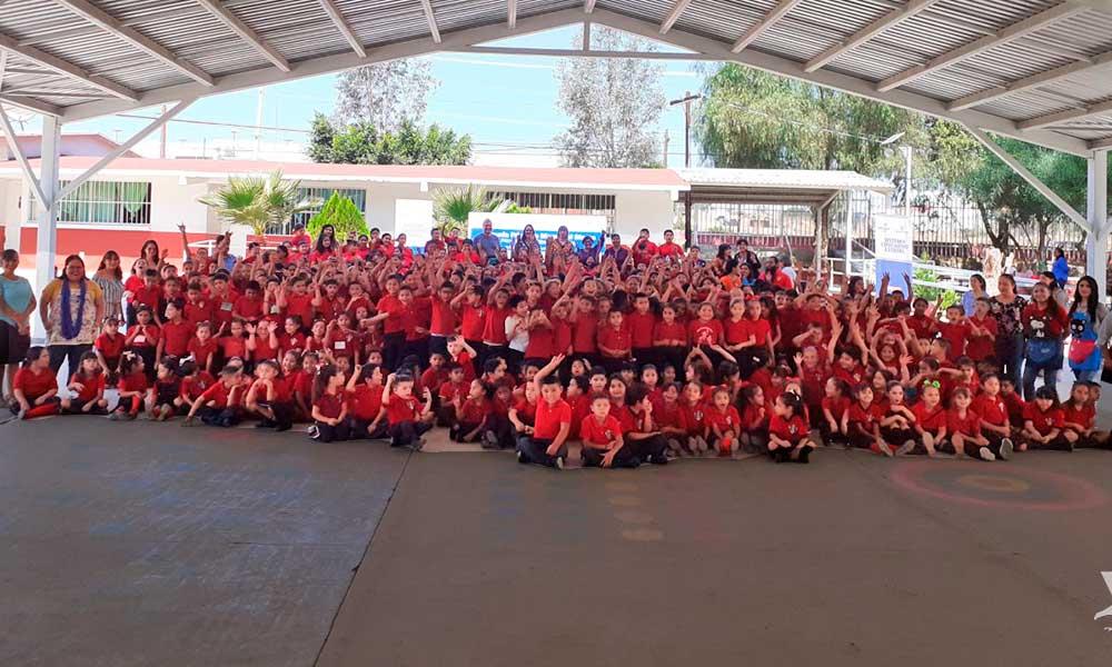Inauguran primer escuela pública bilingüe en Tecate