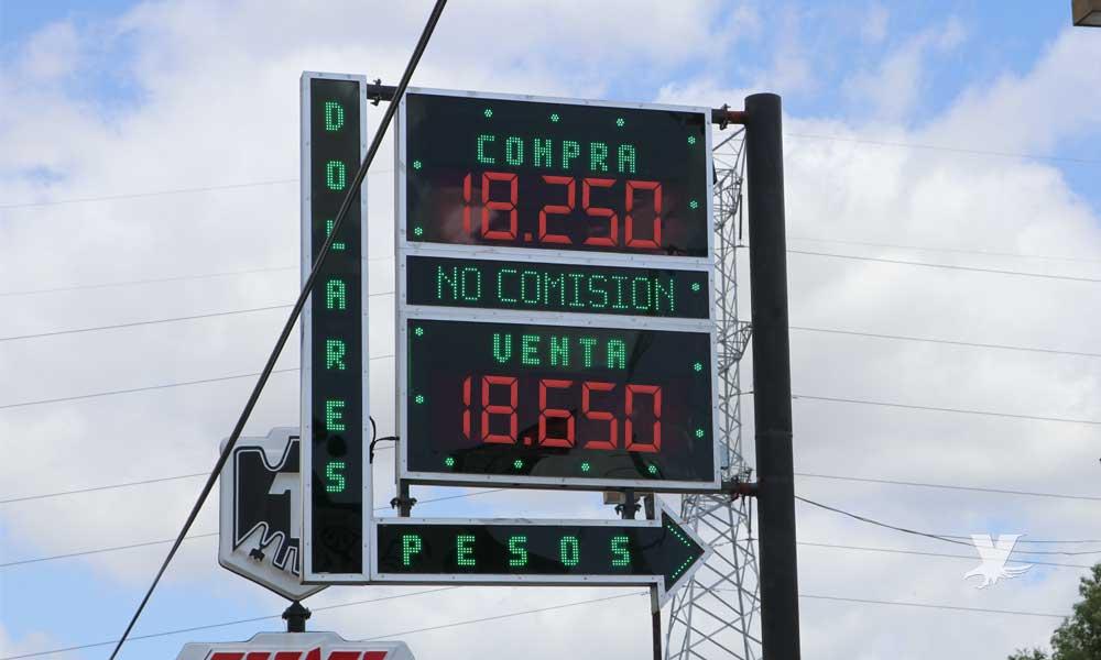 Dólar promedio en Tecate y bancos