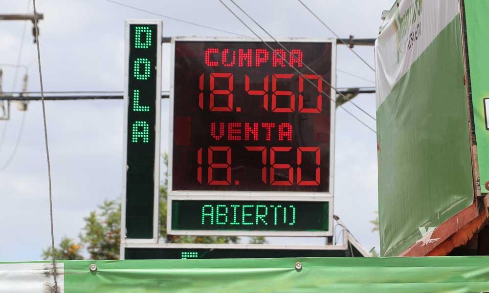 Tipo de cambio en promedio en Tecate y bancos
