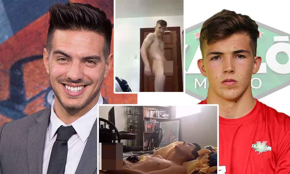 (VIDEO) Filtran videos íntimos 'pack' de Vadhir Derbez y del concursante de Exatlón, Mariano Razo