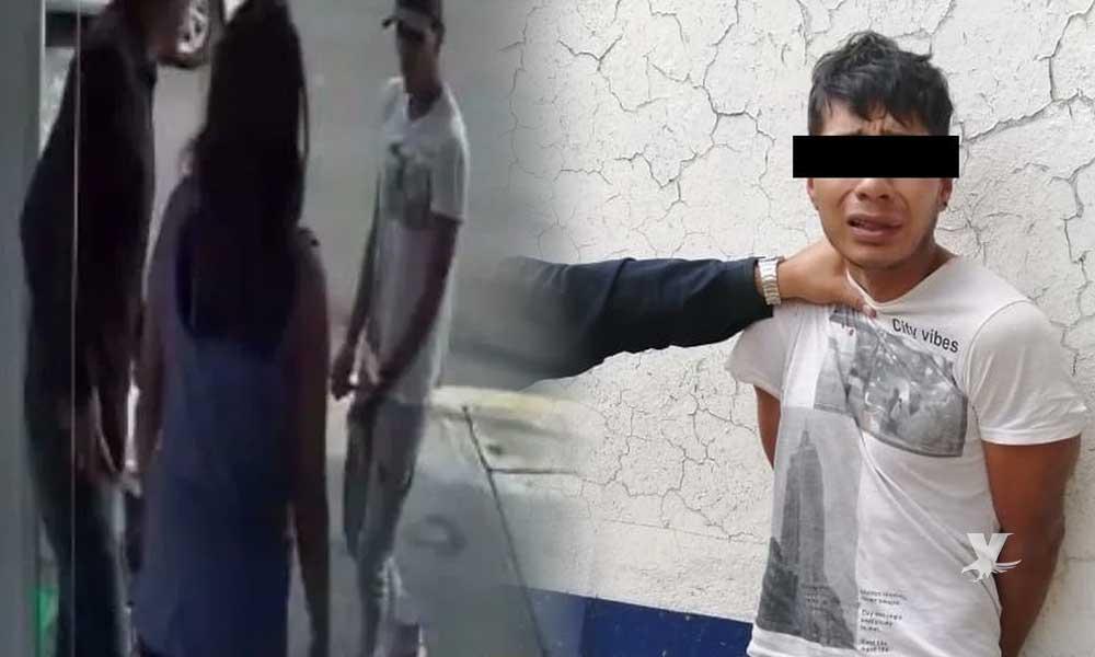 (VIDEO) Hombre es apuñalado al resistirse a un asalto