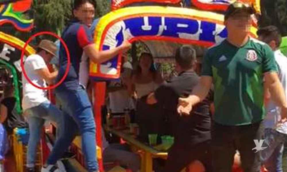 (VIDEO) Encuentran cuerpo del joven que se ahogó al caer de una trajinera en Xochimilco