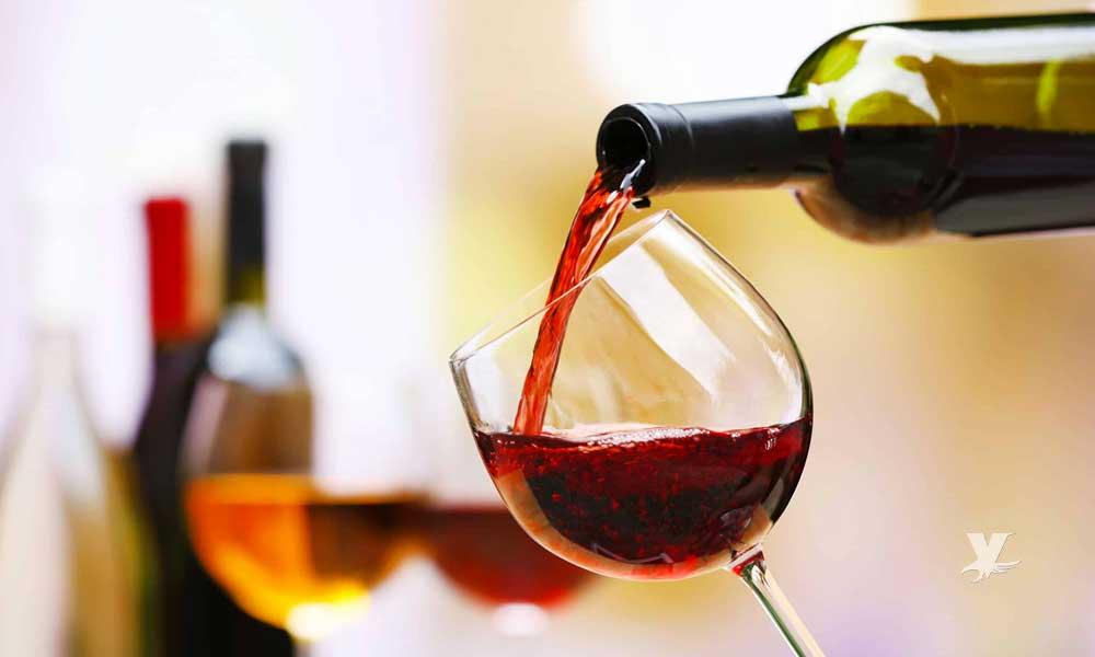 Beber vino tinto es muy bueno para la salud