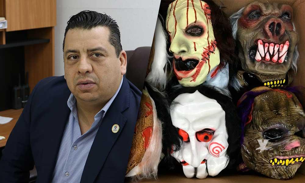 Prohibido que adultos utilicen mascaras durante Halloween en Tecate