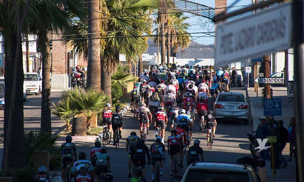 Realizan la 5ta carrera Baja Bike Race en Tecate