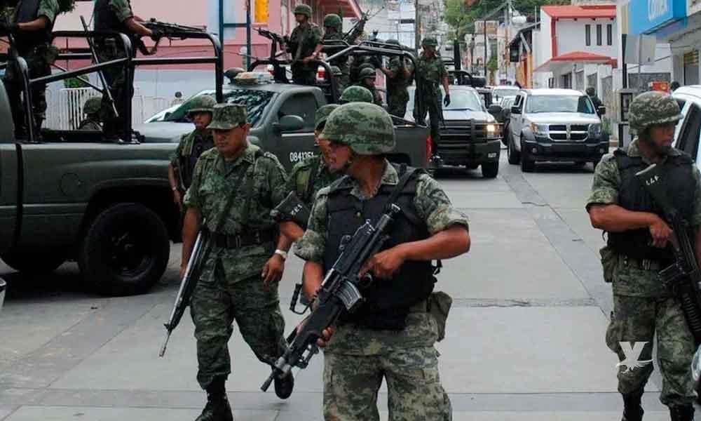 (VIDEO) Grupo armado 'rafaguea' Cuartel Militar en Tamaulipas