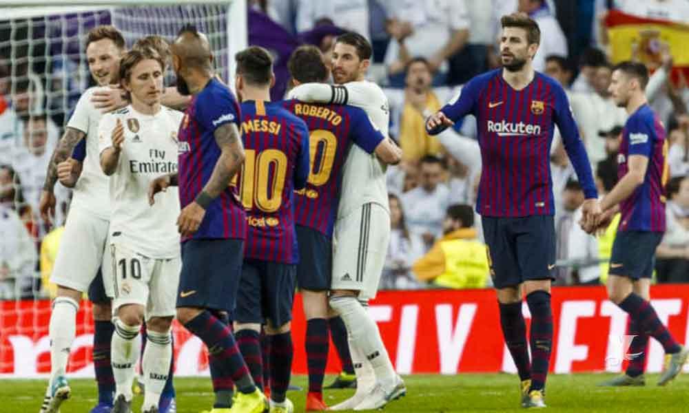 Barcelona y Real Madrid pospuesto hasta el 18 de diciembre por problemas políticos