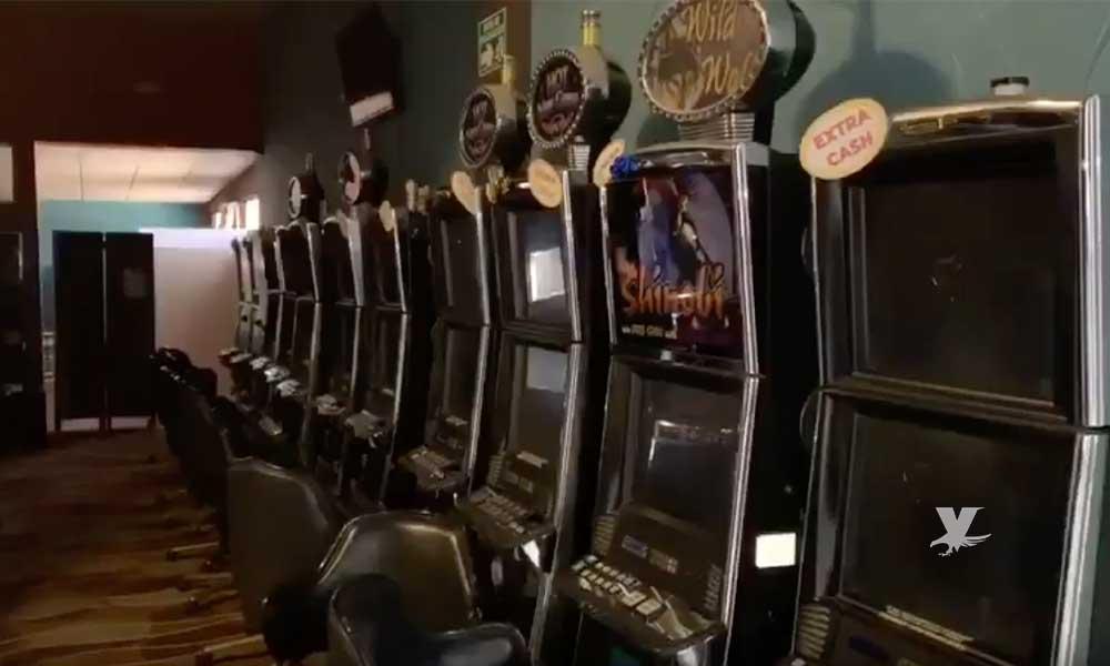 Localizan casino clandestino en Baja California y lo desmantelan