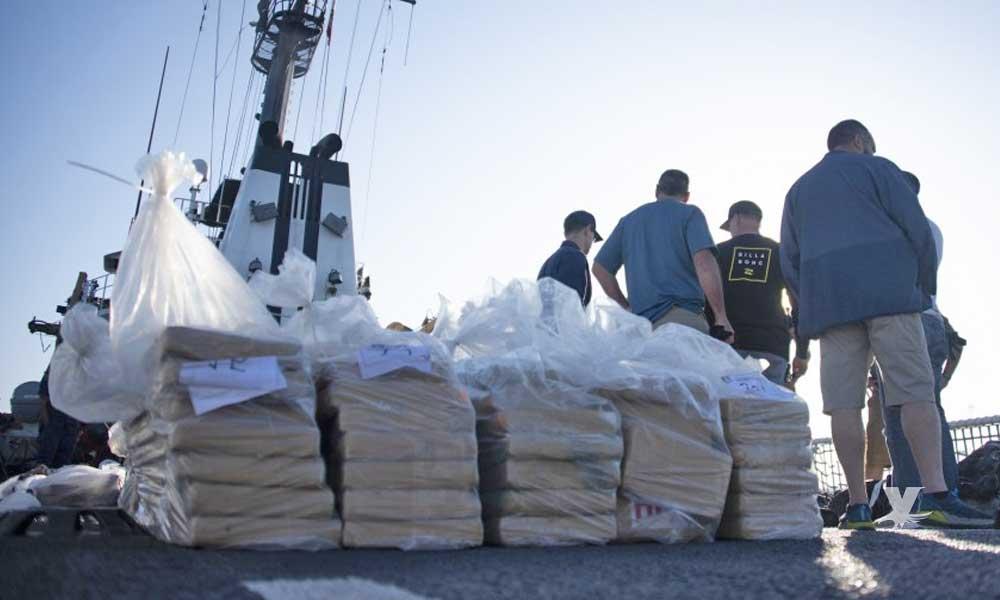 Guardia Costera descarga cargamento de cocaína valuado en 92 millones de dólares en San Diego
