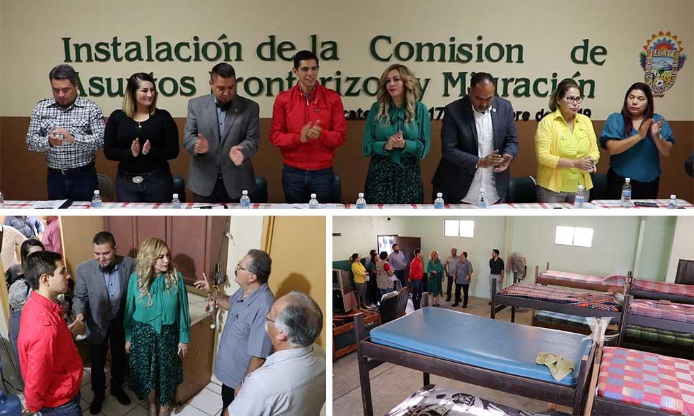 Quedan instaladas las comisiones de Atención a Migrantesy Asuntos Fronterizos: Regidor Román Cota