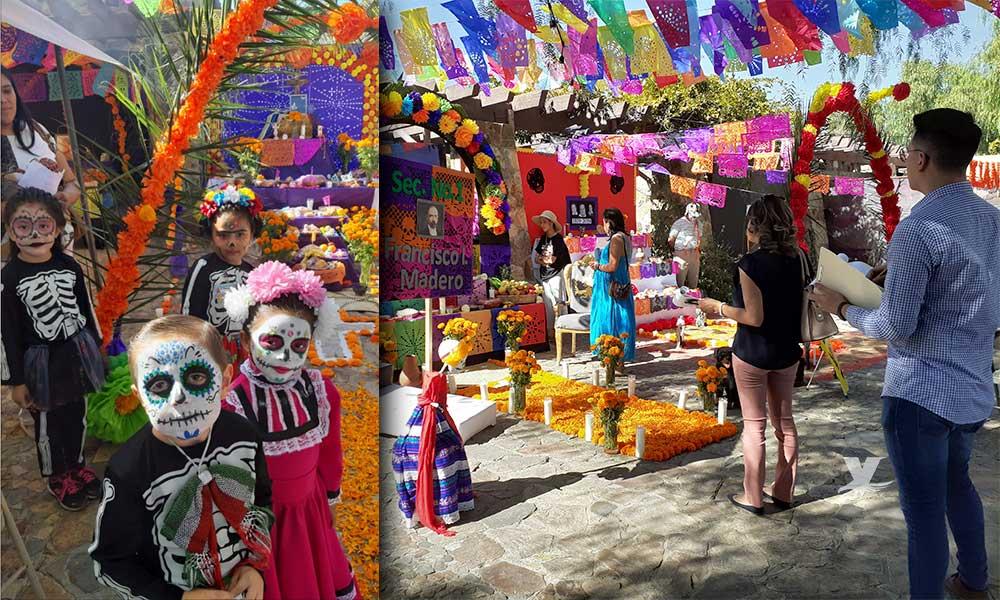 Exitoso concurso de Altares de Muertos en Tecate