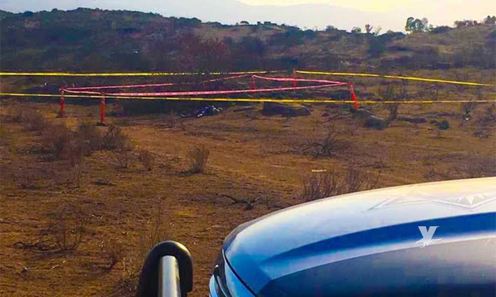 Municipales localizan cuerpo si vida en el Capiri en Tecate