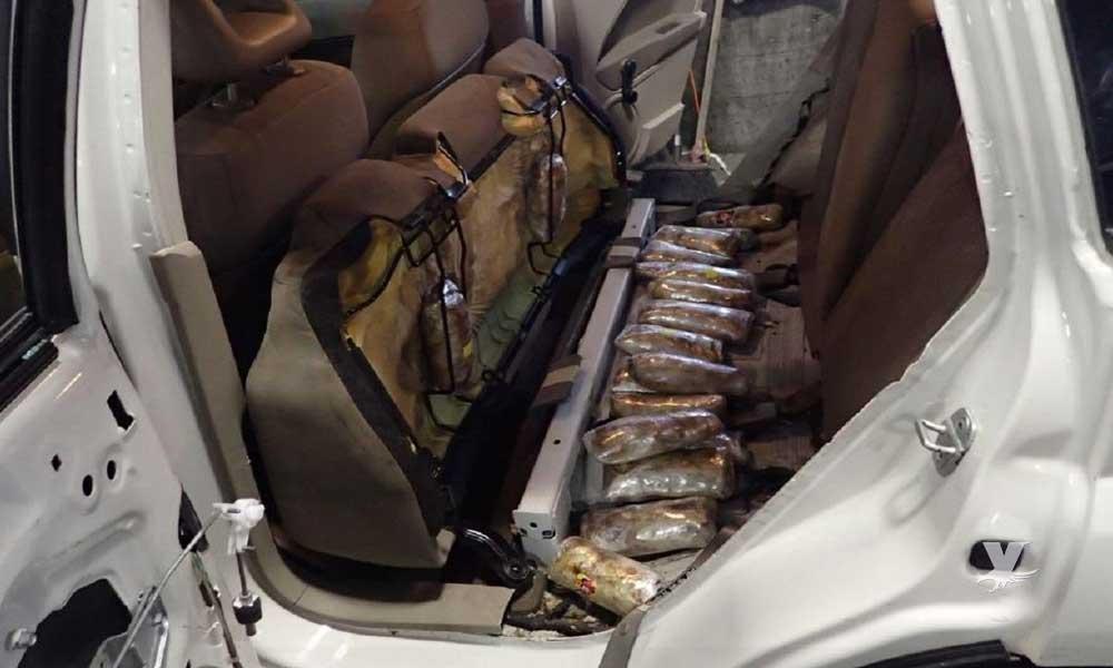 Decomisan valioso cargamento de cocaína y fentanilo en San Diego