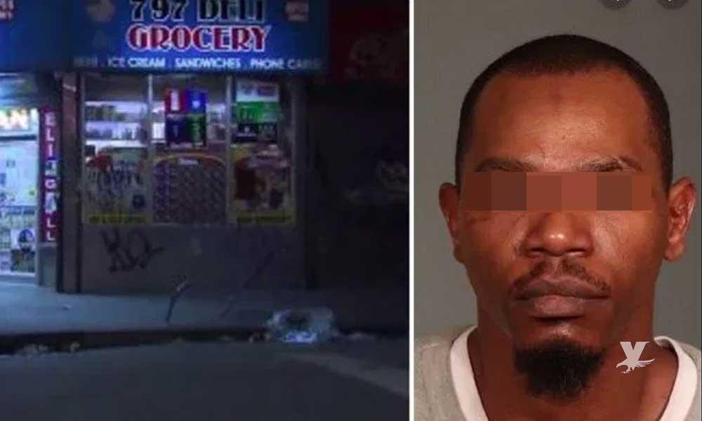 Sentencia de 25 años a hombre que mató a un empleado por no regalarle una cerveza