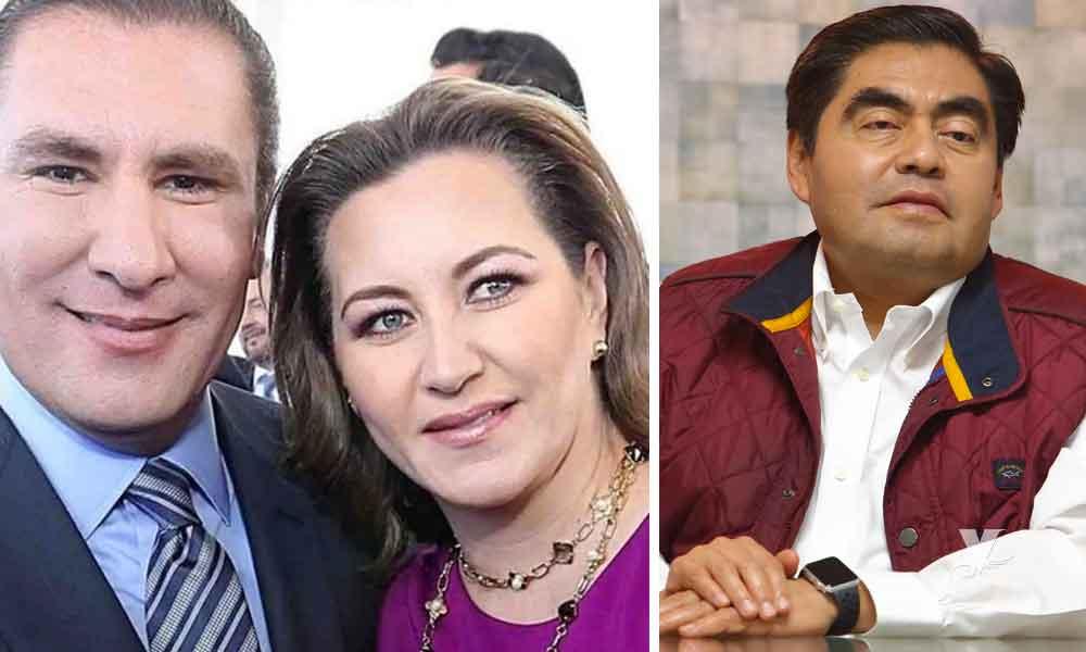 Miguel Barbosa agradece a Dios por la muerte de Martha Alonso y Rafael Moreno