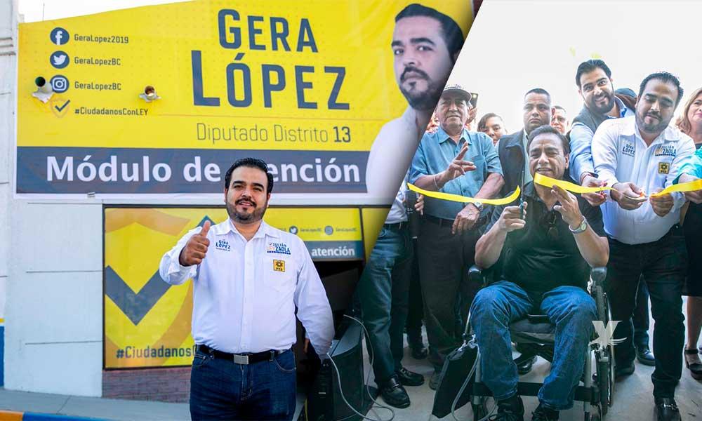 Abre Dip Gerardo López Puertas De Su Módulo De Atención