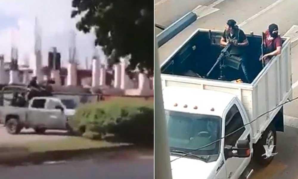 Presunta detención de un hijo de 'El Chapo' Guzmán desata balaceras en todo Culiacán