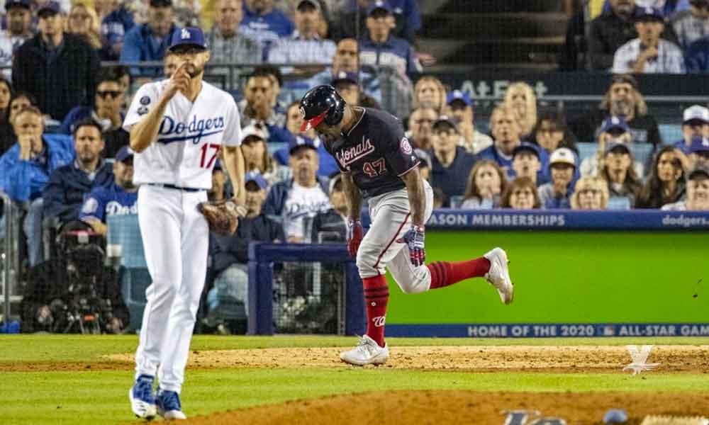 Dodgers es eliminado con Grand Slam en la 10ª entrada