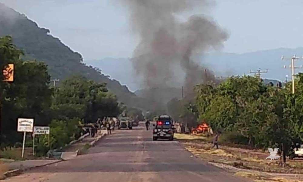 (VIDEO) Sicarios emboscan y matan a 14 policías en Aguililla, Michoacán