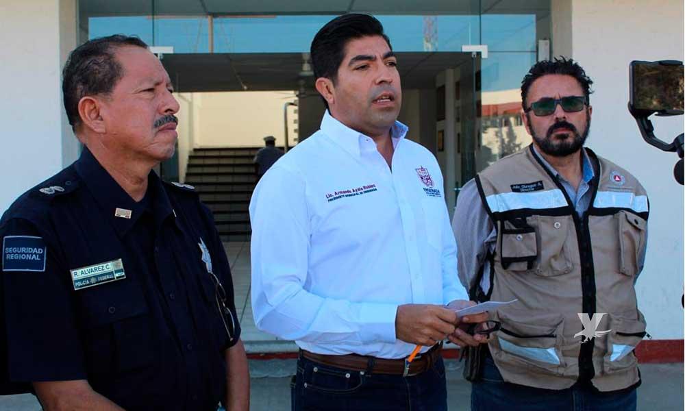 100 viviendas afectadas por incendios forestales en Ensenada