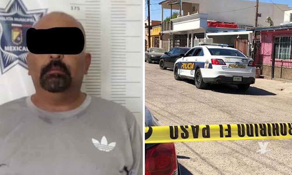 Hombre mata a su esposa de 4 disparos en el abdomen, sucedió en Mexicali