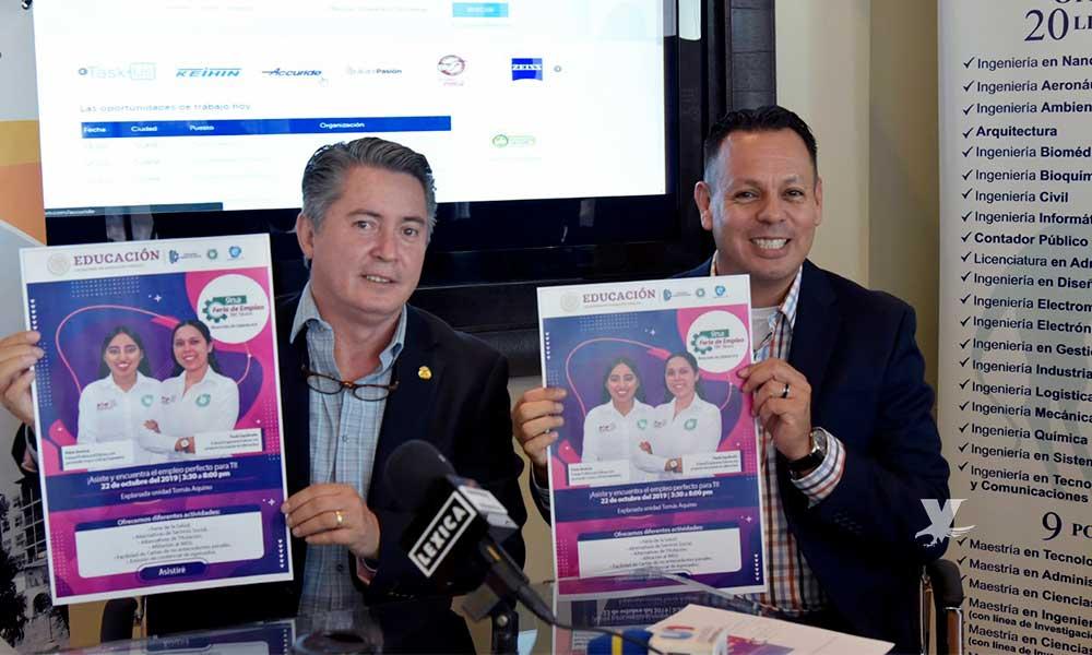 Feria del Empleo del ITT ofertará 2 mil 500 vacantes en Tijuana
