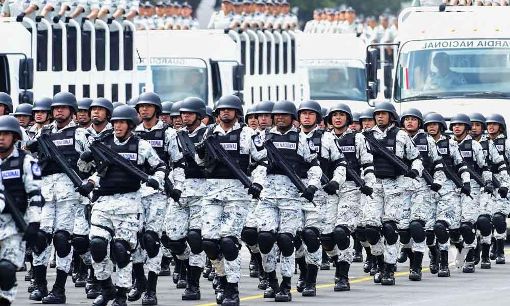 Convocan a interesados a ingresar a la Guardia Nacional con salario de 19 mil pesos mensuales