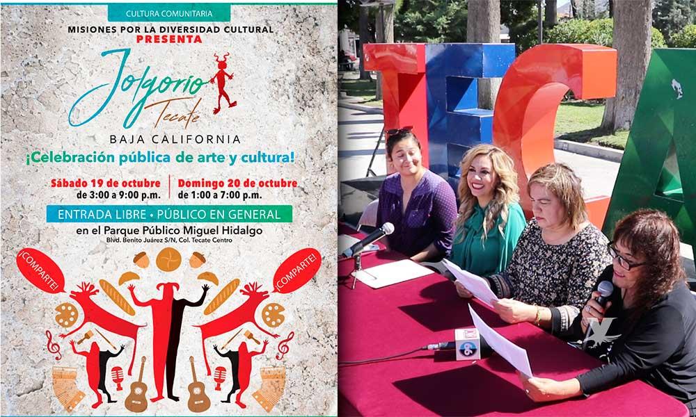 """Invitan a """"Jolgorio"""", una celebración pública de arte y cultura en el Parque Miguel Hidalgo de Tecate"""