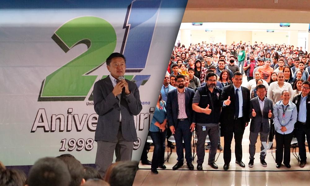 """(VIDEO) Presenta Alejandro Kasuga la conferencia """"Ki Wo Tsukau, un enfoque humano en la mejora continua"""" en UTT"""