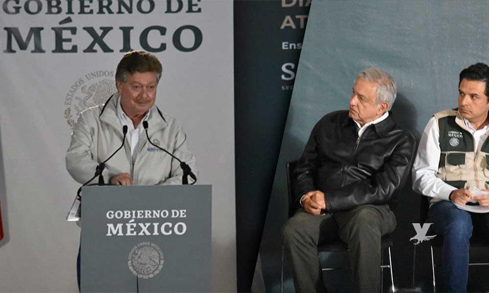 Maestros abuchean a 'Kiko' Vega en San Quintín