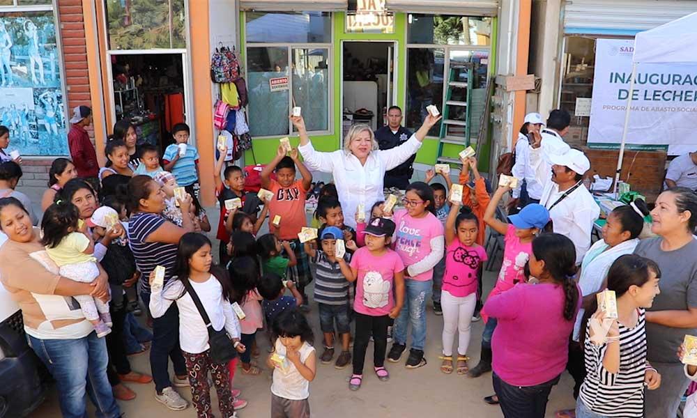Lleva LICONSA Programa de Abasto Social a San Quintín