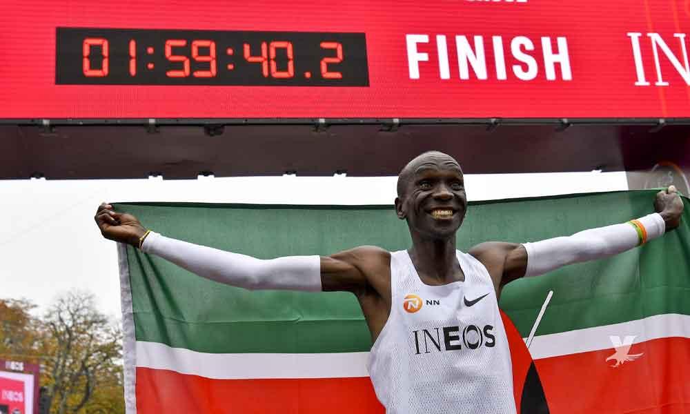 Eliud Kipchoge: Primer atleta en correr un Maratón en menos de 2 horas