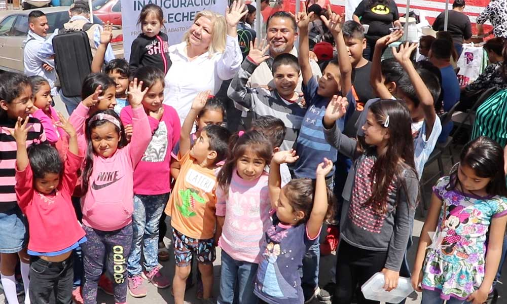 "Estará presente LICONSA Programa de Abasto Social en Jardín de Niños ""Bertha Von Glumer"" en San Felipe"