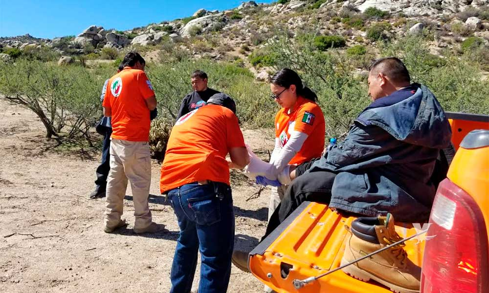 Protección Civil y Grupo BETA rescatan a tres migrantes en Tecate