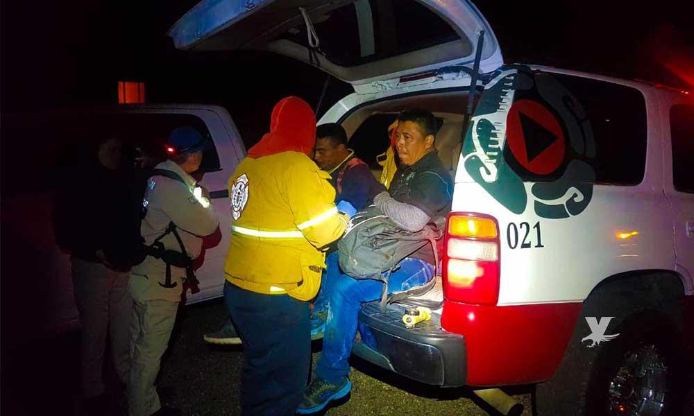 Rescatan a migrantes en La Rumorosa