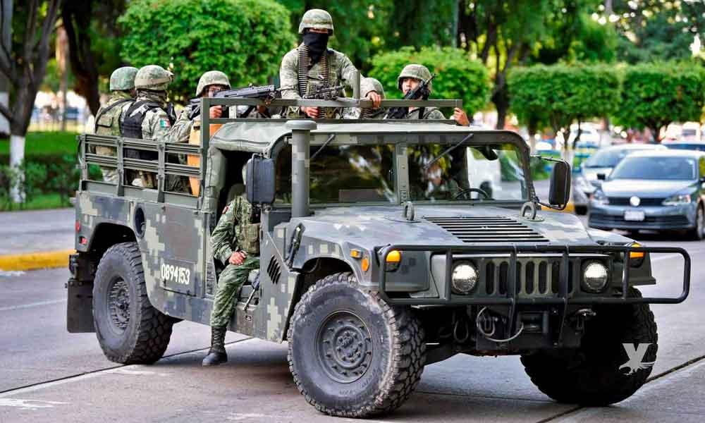 Civiles armados despojan de armas y vehículo a militares en carretera de Culiacán a Mazatlán