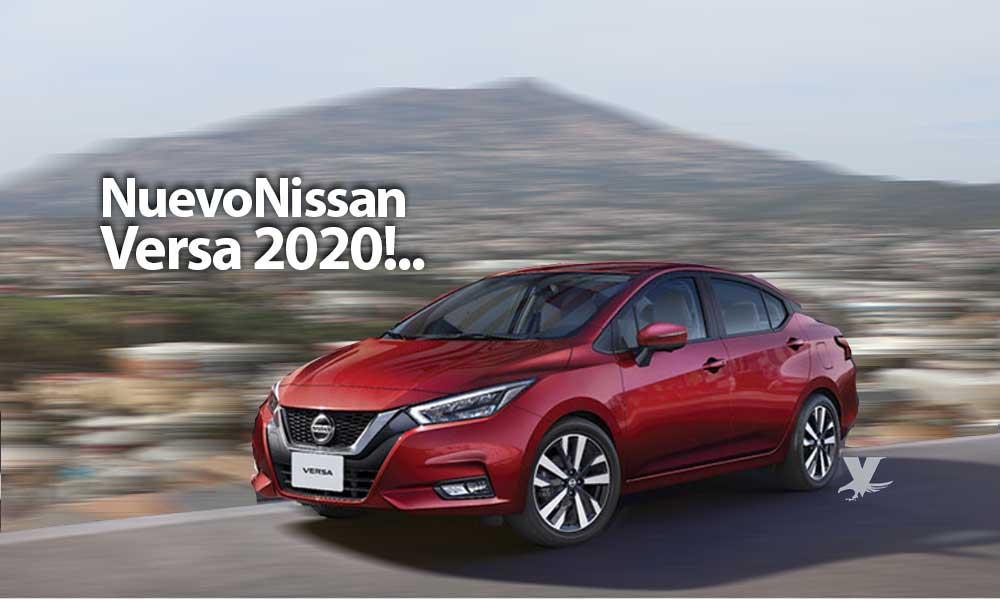 Presentan en Tecate el nuevo Nissan Versa 2020