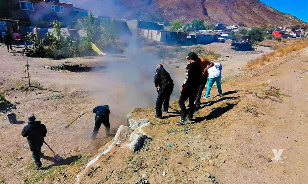 Detienen a 3 personas en Tecate por realizar incendios durante condición de vientos de Santa Ana