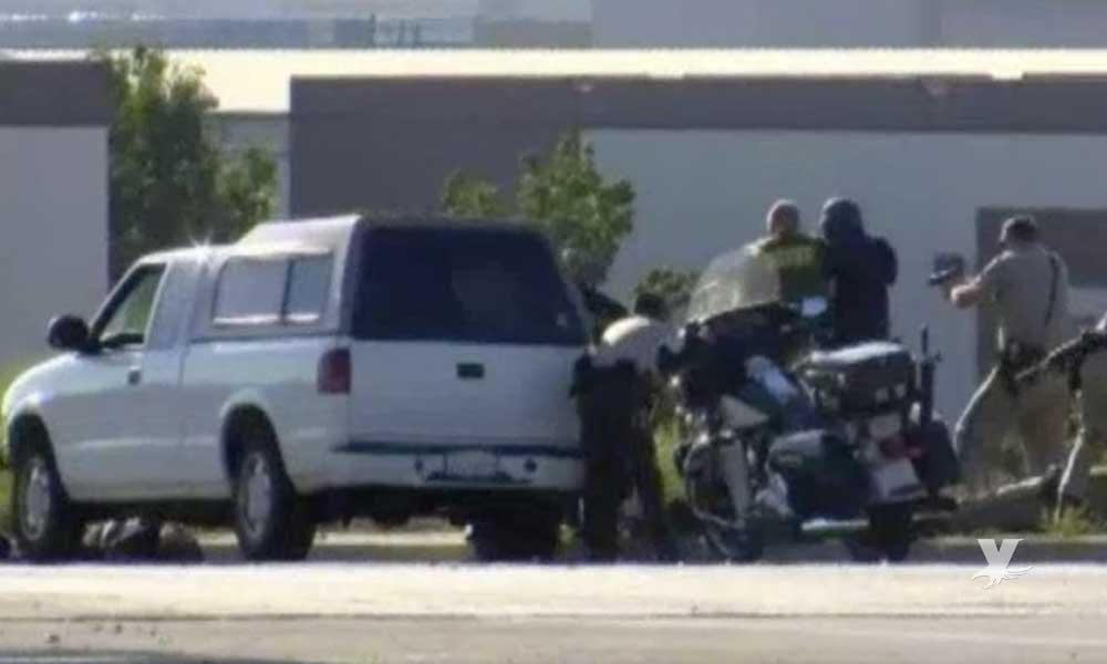 Hombre es detenido en San Diego por tráfico de heroína