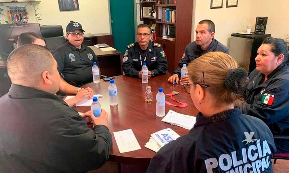 Nuevo Director de Programas preventivos de la Policía Municipal de Tecate